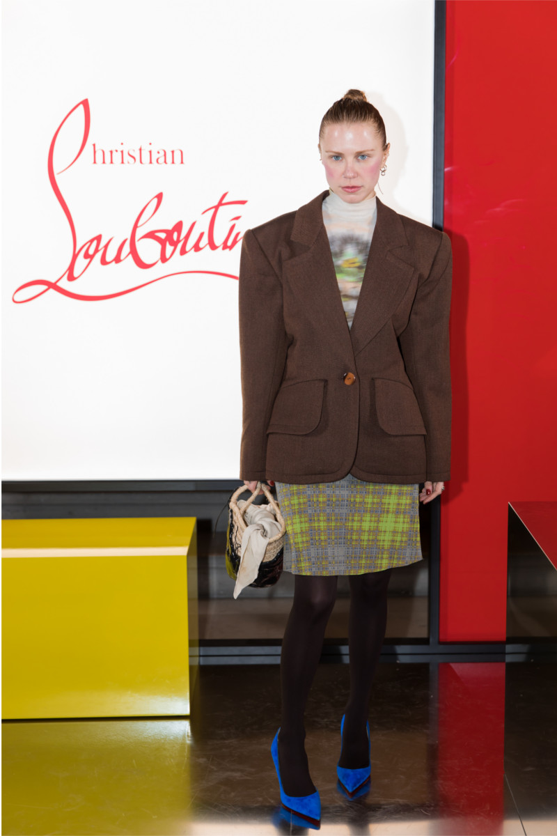 Courtney Trop attending Christian Louboutin presentation of his Fall-Winter 2020 collection
