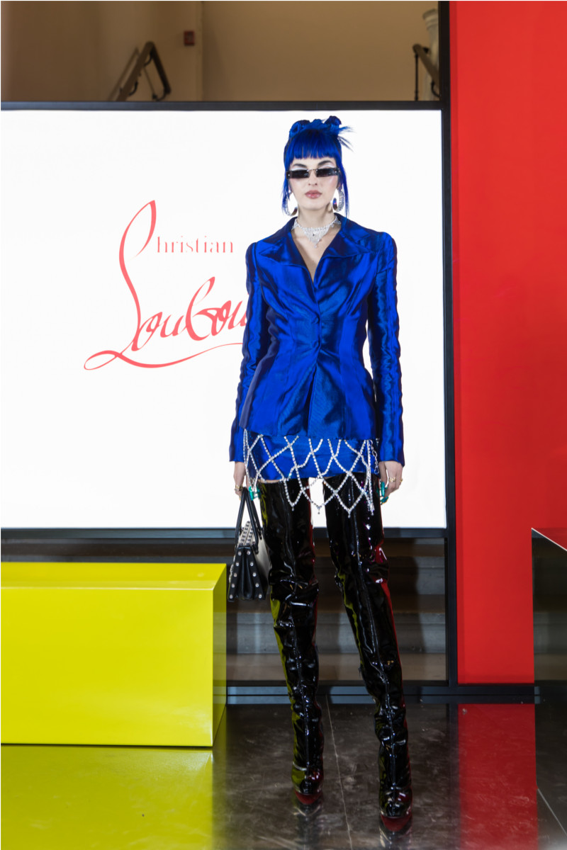 Sita Abellan attending Christian Louboutin presentation of his Fall-Winter 2020 collection