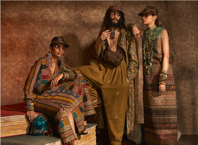 CHRISTIAN LOUBOUTIN GOES EAST FOR SABYASACH'S FW19 COLLECTION
