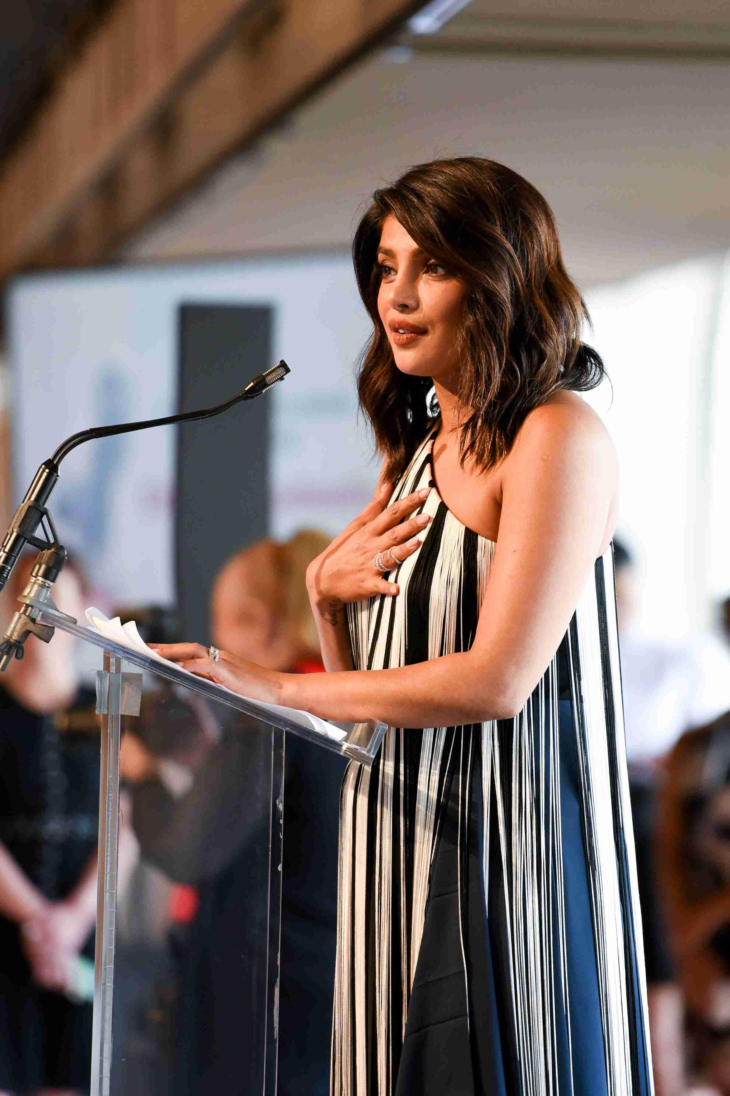 Christian Louboutin FIT award - Priyanka Chopra Jonas