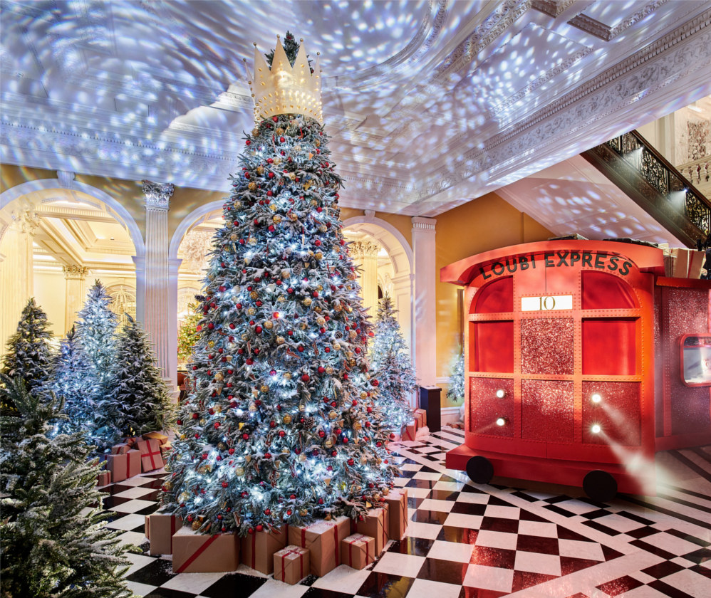 Claridges_Tree_Christian_Louboutin
