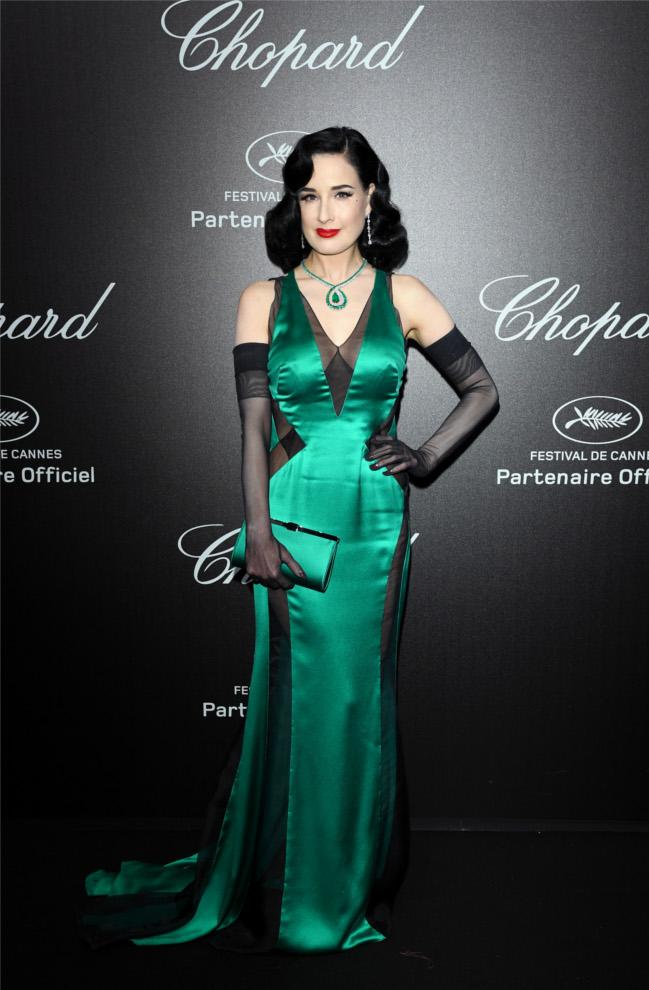 Dita Von Teese Cannes 2019