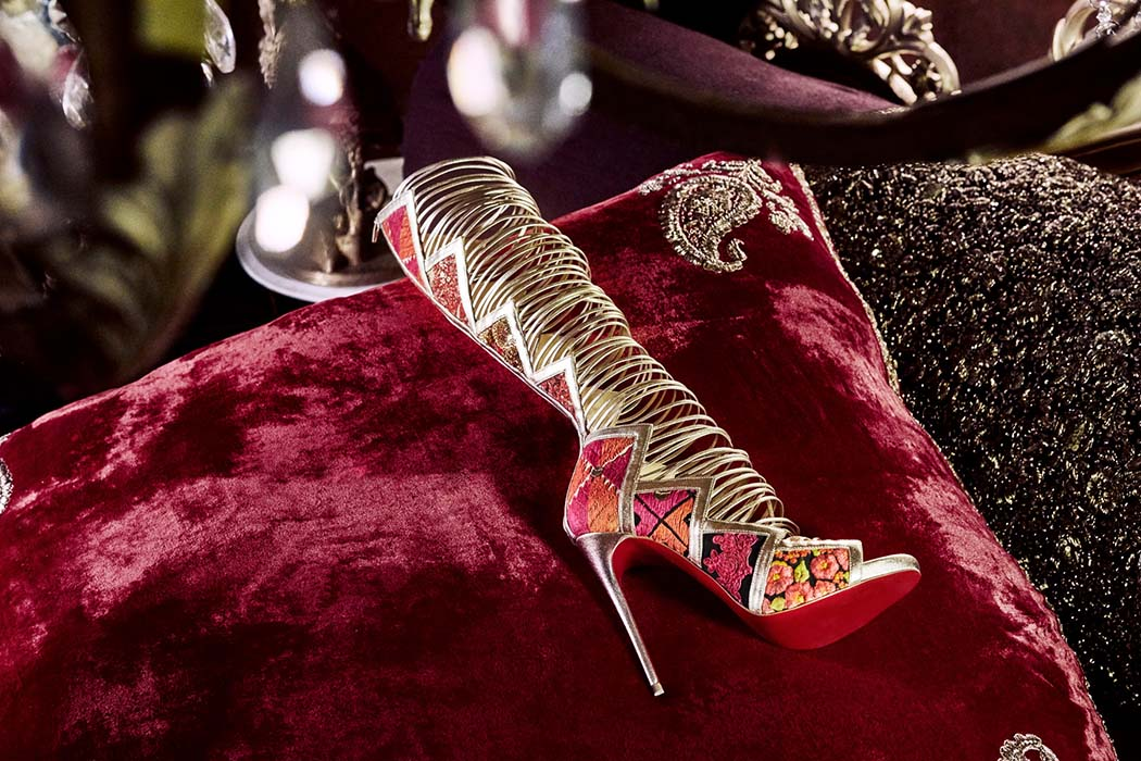Christian Louboutin And Sabyasachi New Collaboration 2