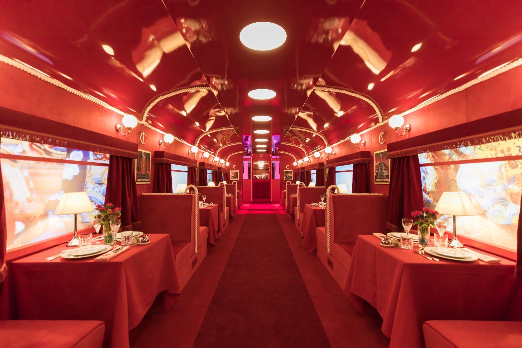 Loubhoutan Express interior 1