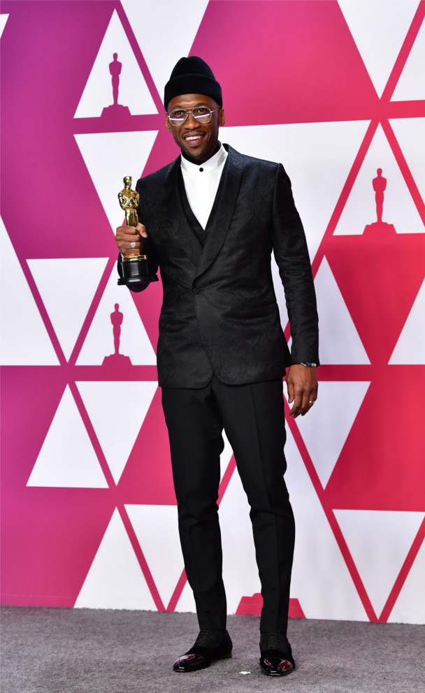 "Mahershala Ali – Winner of Best Supporting Actor and stars in Best Picture ""Green Book"""