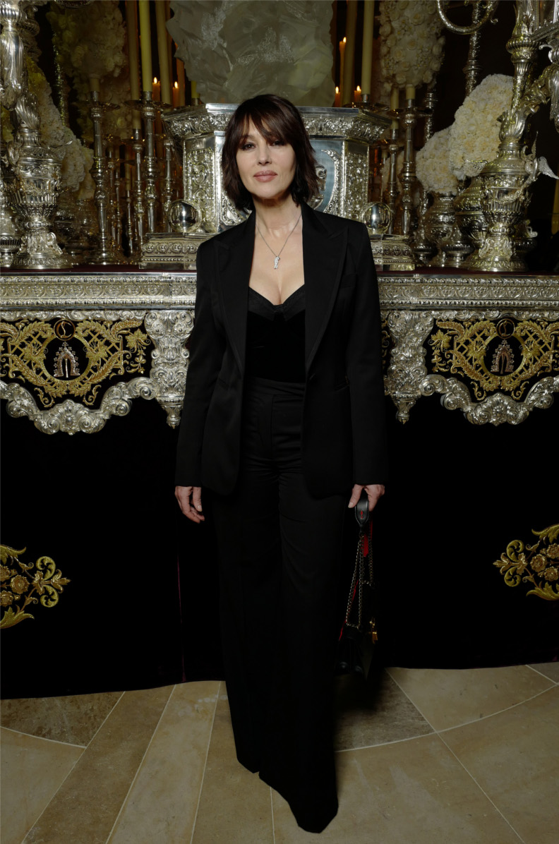 Monica Bellucci attending the opening of L'Exhibition[niste] - © Stéphane Feugère