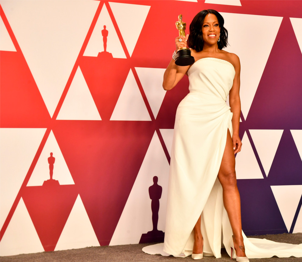 "Regina King – Winner of Best Supporting Actress ""If Beale Street Could Talk"""