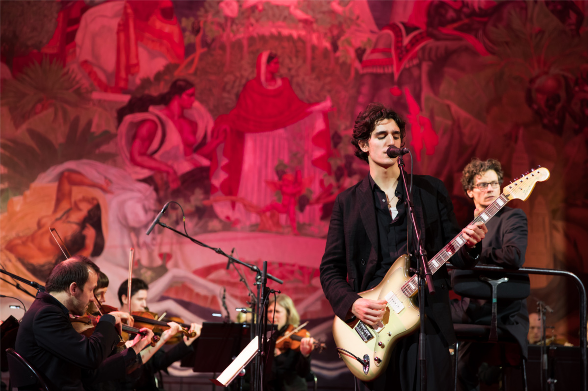 Tamino at the opening of L'Exhibition[niste]
