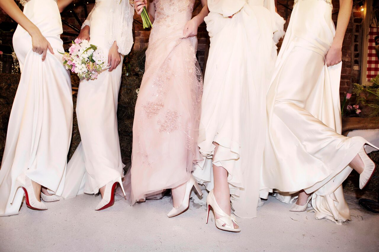 02714846c96 News - Christian Louboutin Online - We're with the Bride: Christian ...